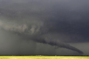 A tornado in Kansas (Reuters)